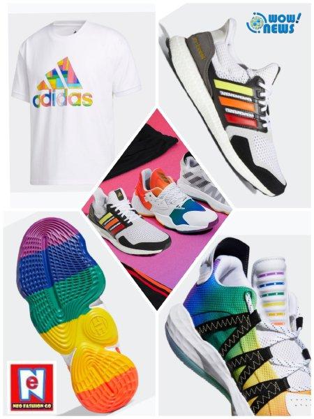 台湾同性婚姻生效周年庆  adidas 推出2020全新Pride彩虹系列