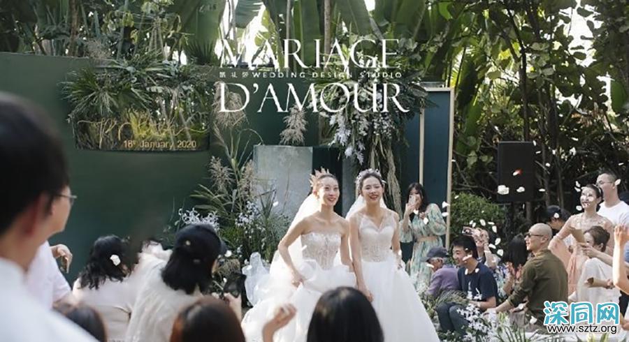 杨丽萍徒弟水月同性婚礼:但是爸爸们更酷!