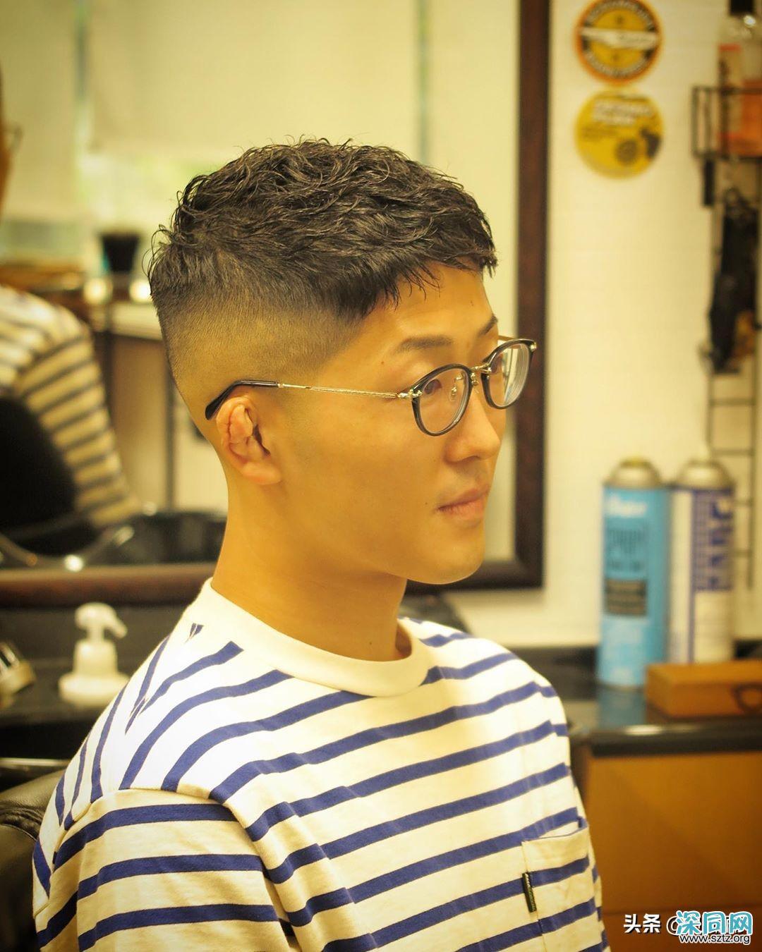 为什么那么多男士剪两侧铲短发型?你也会爱上